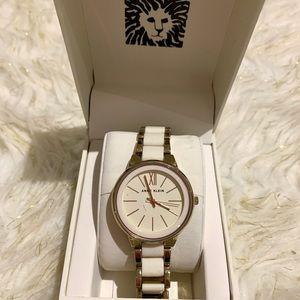 Women's White/Gold Watch
